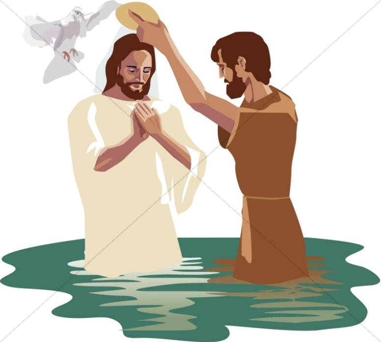 Baptism clipart river. Of christ the lord
