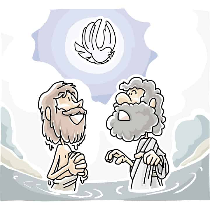 Jesus s and significance. Baptism clipart river
