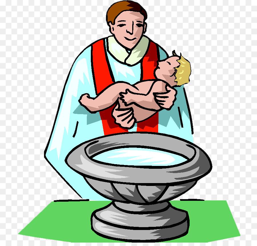 Jesus infant clip art. Christian clipart baptism