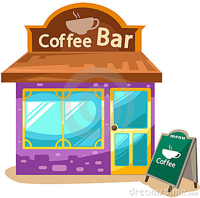 Bar clipart. Coffee
