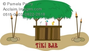 Clip art illustration of. Bar clipart