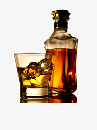 Whiskey liqueur png image. Bar clipart alcohol