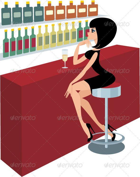 Clip art modern images. Bar clipart alcohol