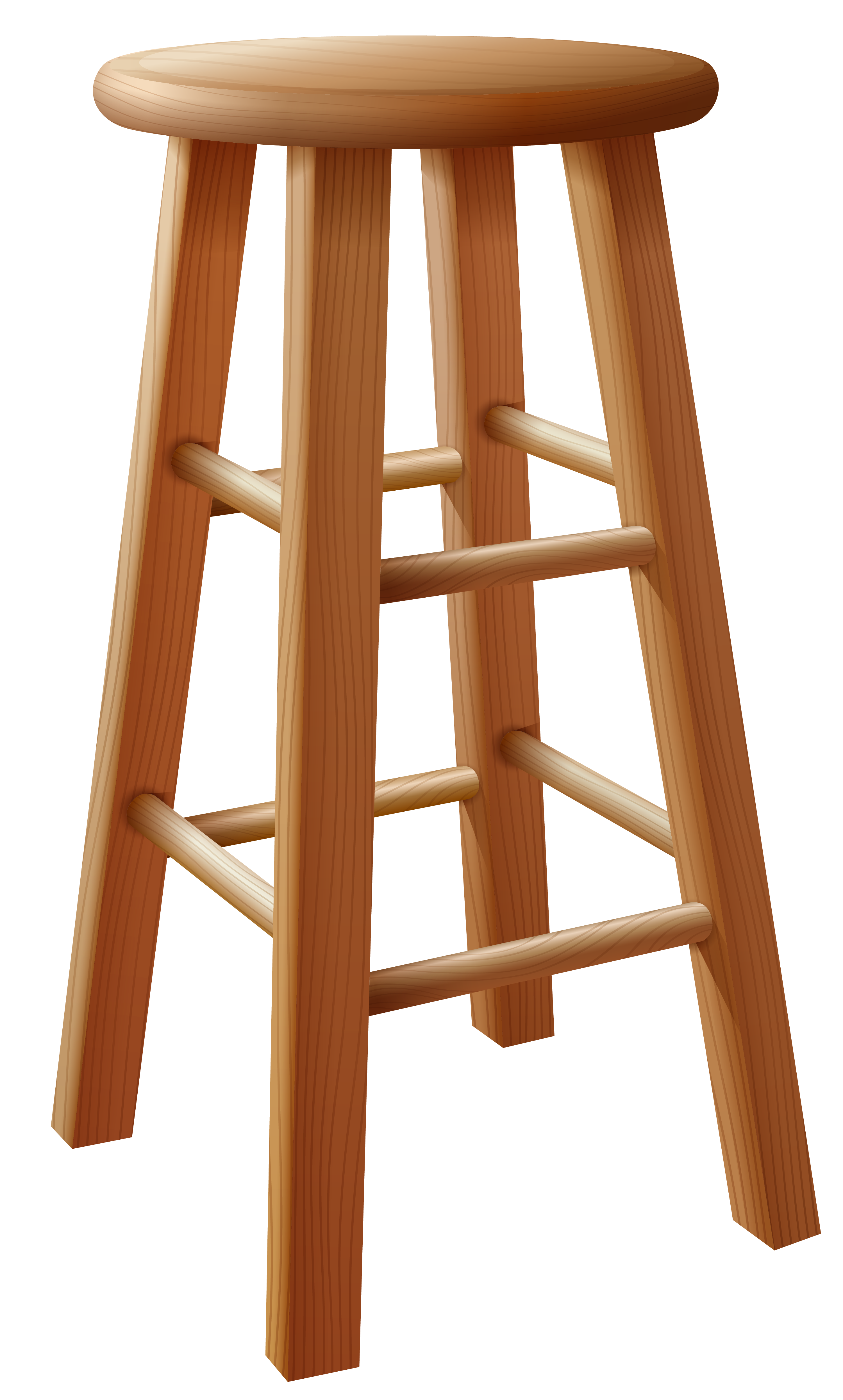 Bar stool png image. Podium clipart wooden