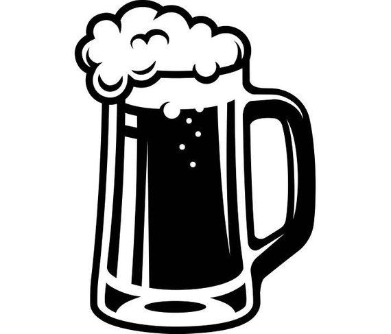 Bar clipart bartender. Beer mug glass stein