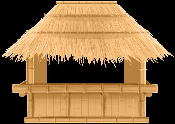 Bar clipart beach bar. Bamboo tiki png clip