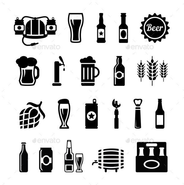 Bar clipart beer bar. Set of icons design