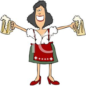 A colorful cartoon of. Bar clipart beer bar