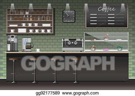 Stock illustration design of. Buy clipart shop counter