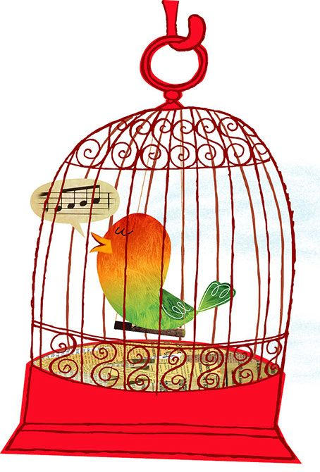 best bird cages. Bar clipart cage