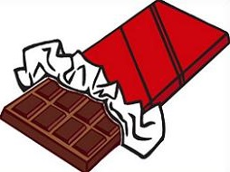 Free chocolate bar cliparts. Clipart candy