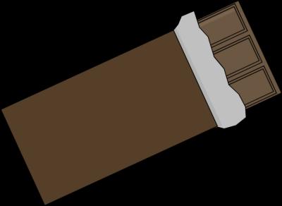 Bar clip art image. Chocolate clipart cute