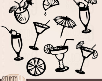 Bar clipart cocktail. Panda free images barclipart