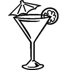 Bar clipart cocktail. Martini glass clip art