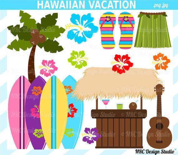Luau clipart hawaiian guitar. Hawaii clip art beach