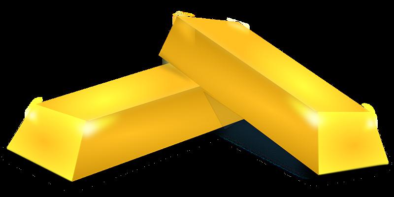gold clipart gold bullion