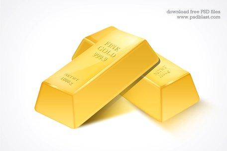 Free and vector graphics. Bar clipart gold bar