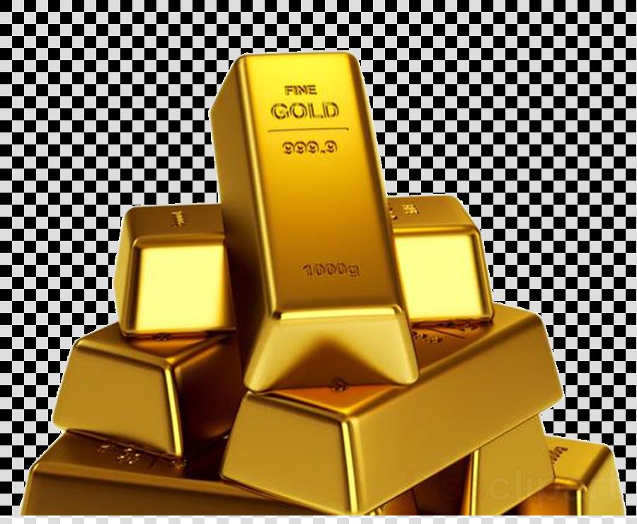 Bar product metal transparent. Gold clipart gold bullion