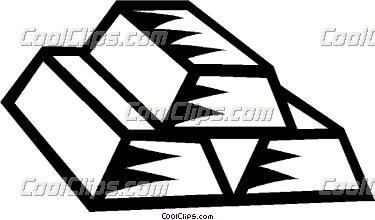 Bar clipart gold bar. Bars vector clip art