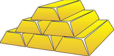 Bar clipart gold bar.  best images on