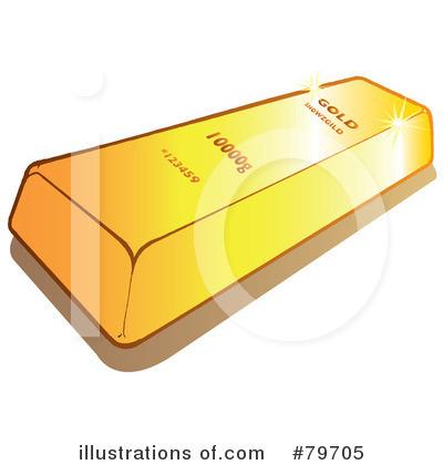 Bar clipart gold bar. Illustration by snowy royaltyfree