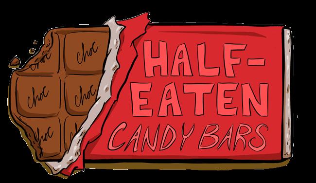 Chocolate drawing at getdrawings. Bar clipart half