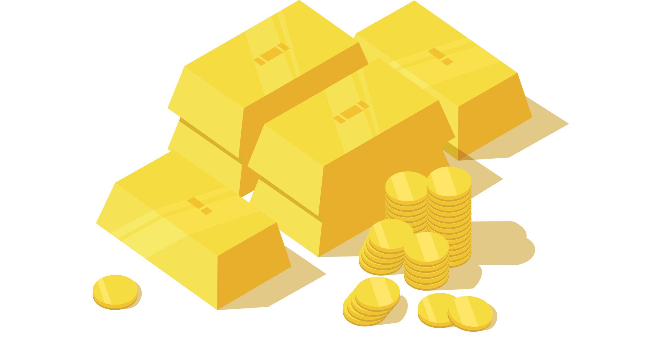 oz gold coins. Bar clipart half
