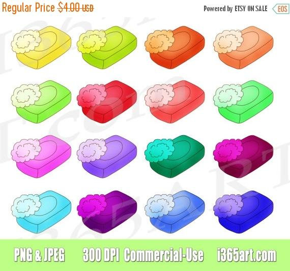 off drawn soap. Bar clipart hand on