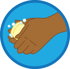 Bar clipart hand on. Free washing hands image