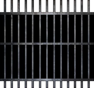 Jail bars . Bar clipart jailbars