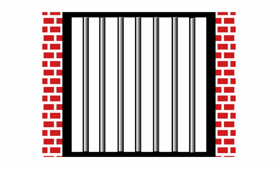 Bar clipart jailbars. Pictures of jail bars