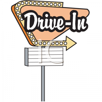 Movie clipart movie drive in. Free clip art home