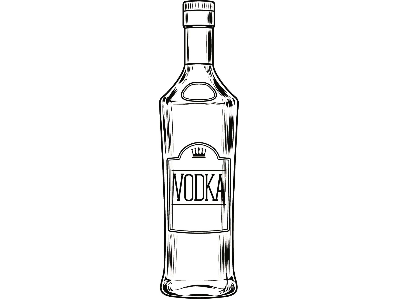 Alcohol bottle vodka liquor. Bar clipart pub bar
