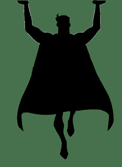 Superhero at getdrawings com. Bar clipart silhouette