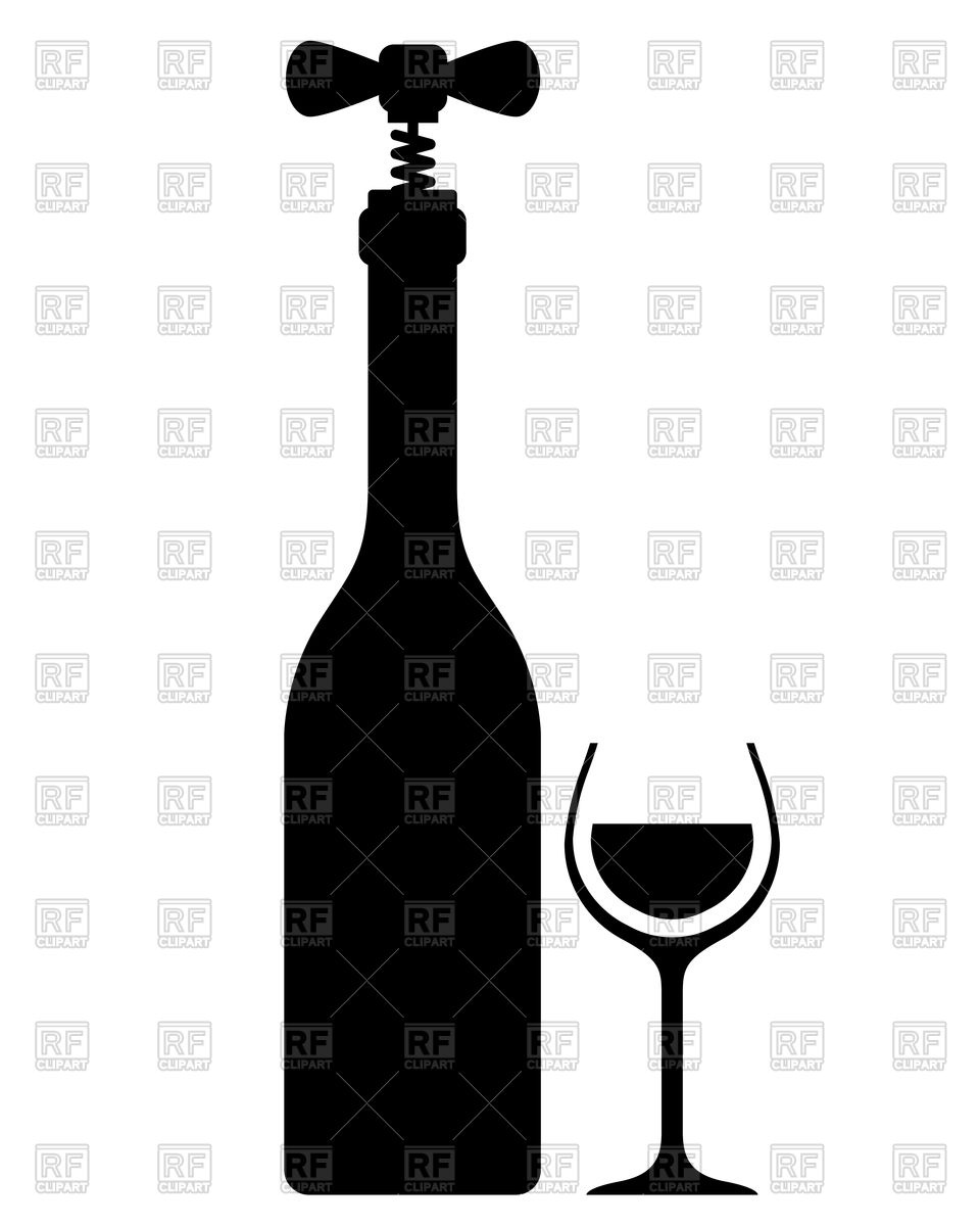 Glasses silhouette at getdrawings. Bar clipart wine bar