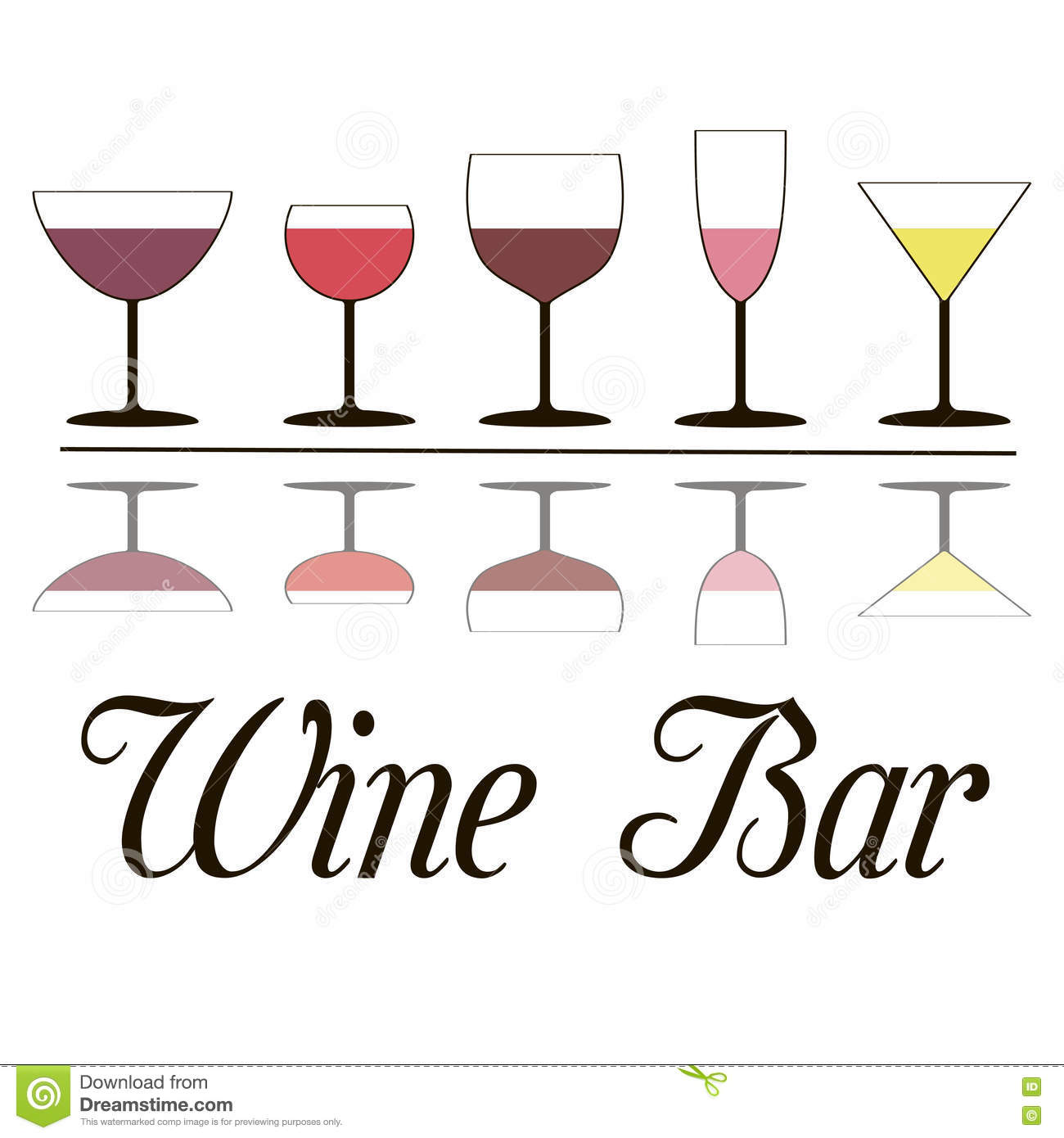 Bar clipart wine bar. Glass pencil and in