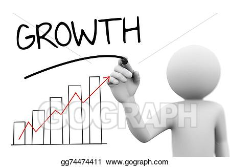 Bar clipart word. Stock illustration d person