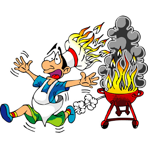 Summer bbq party clip. Barbecue clipart