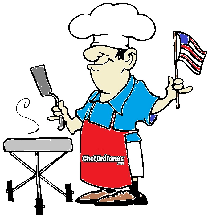 Bbq for your country. Barbecue clipart 4th july