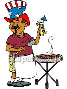 Barbecue clipart 4th july.  th of backyard