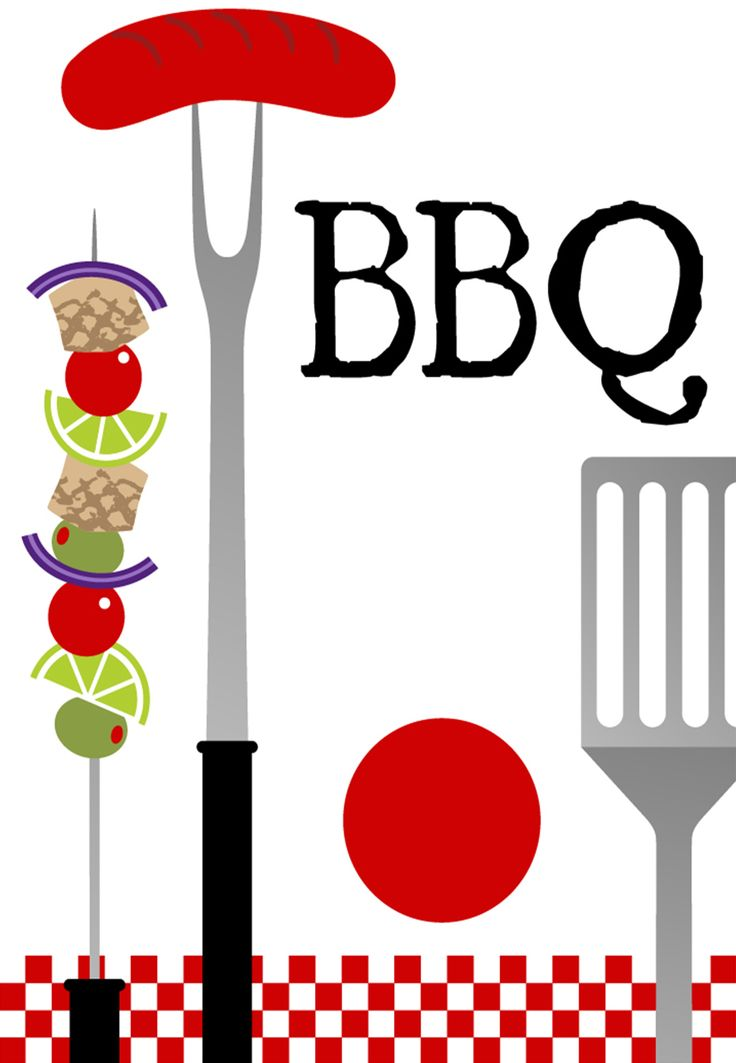 best watermelonantbbq images. Barbecue clipart 4th july