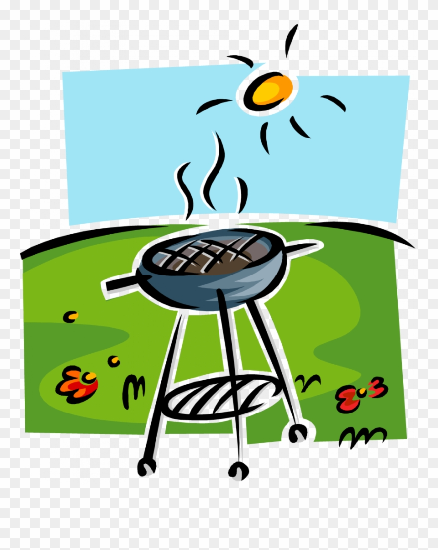 End of year bbq. Barbecue clipart