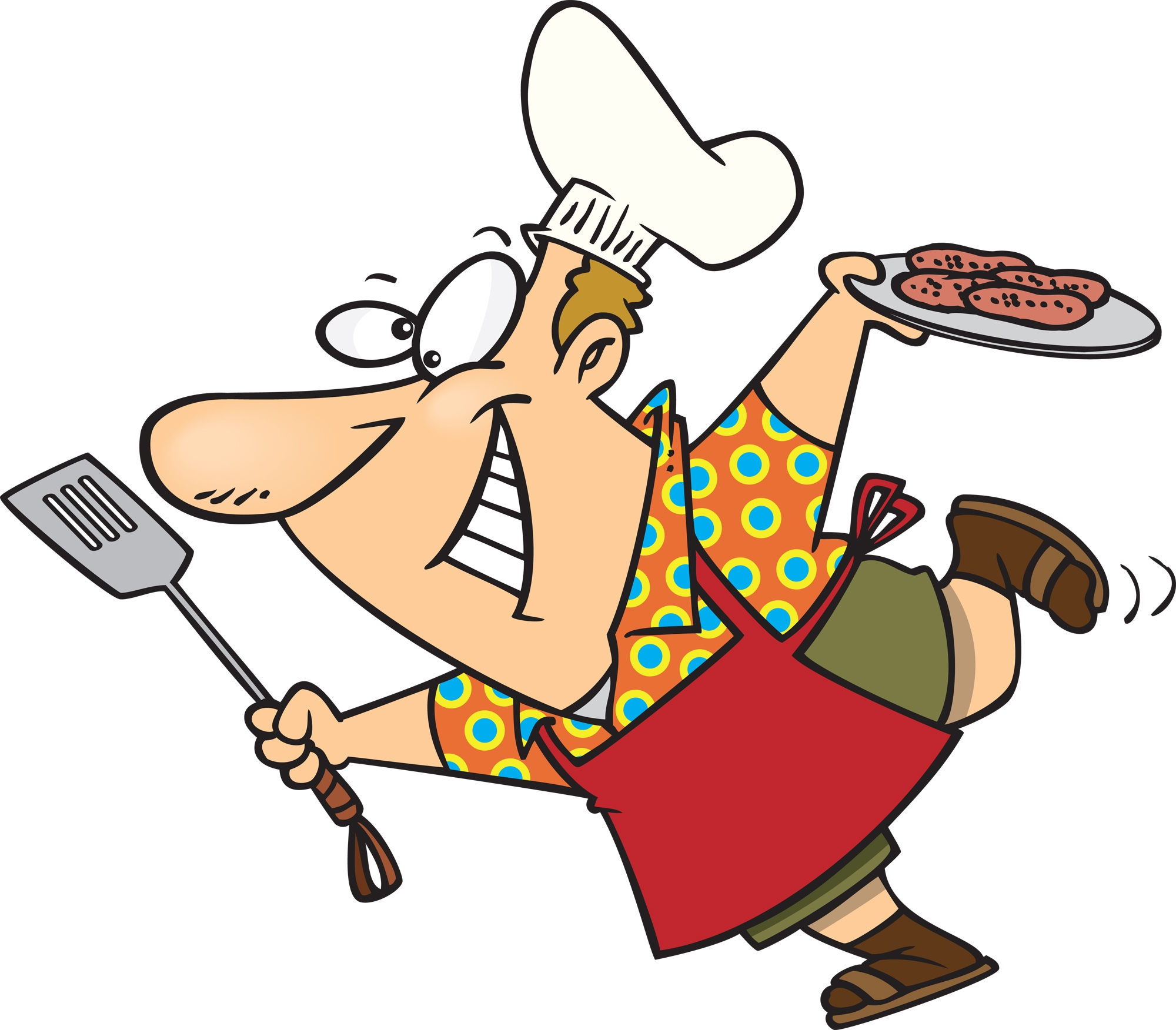 Barbecue clipart animated. Fresh bbq collection digital