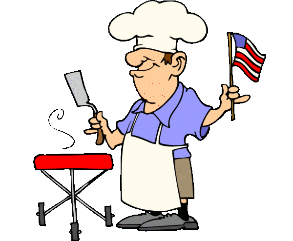 Barbecue clipart animated. Summer bbq party clip
