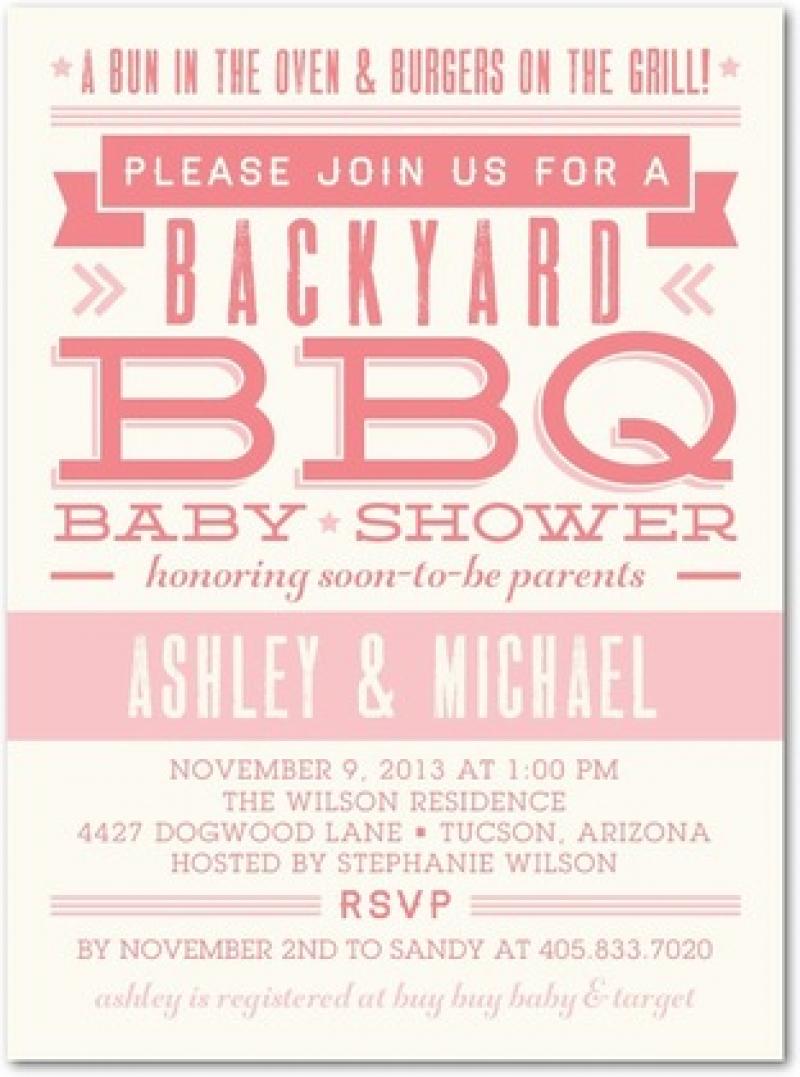Bbq clipart baby shower. Invitations diabetesmang info wild