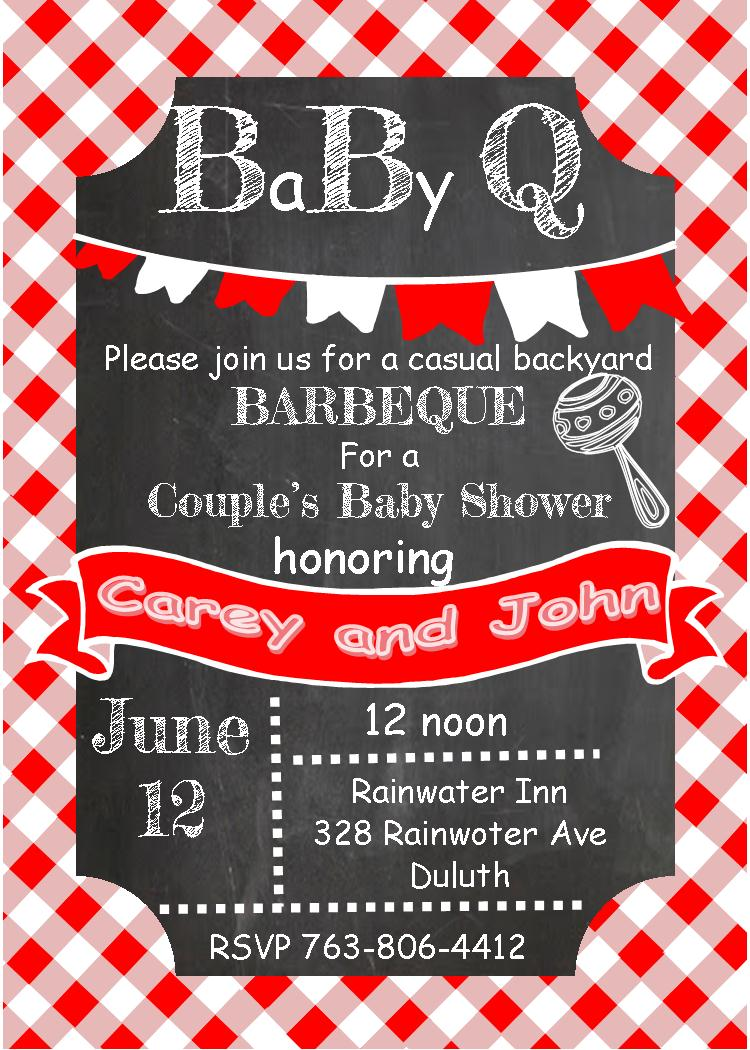 Bbq Clipart Baby Shower