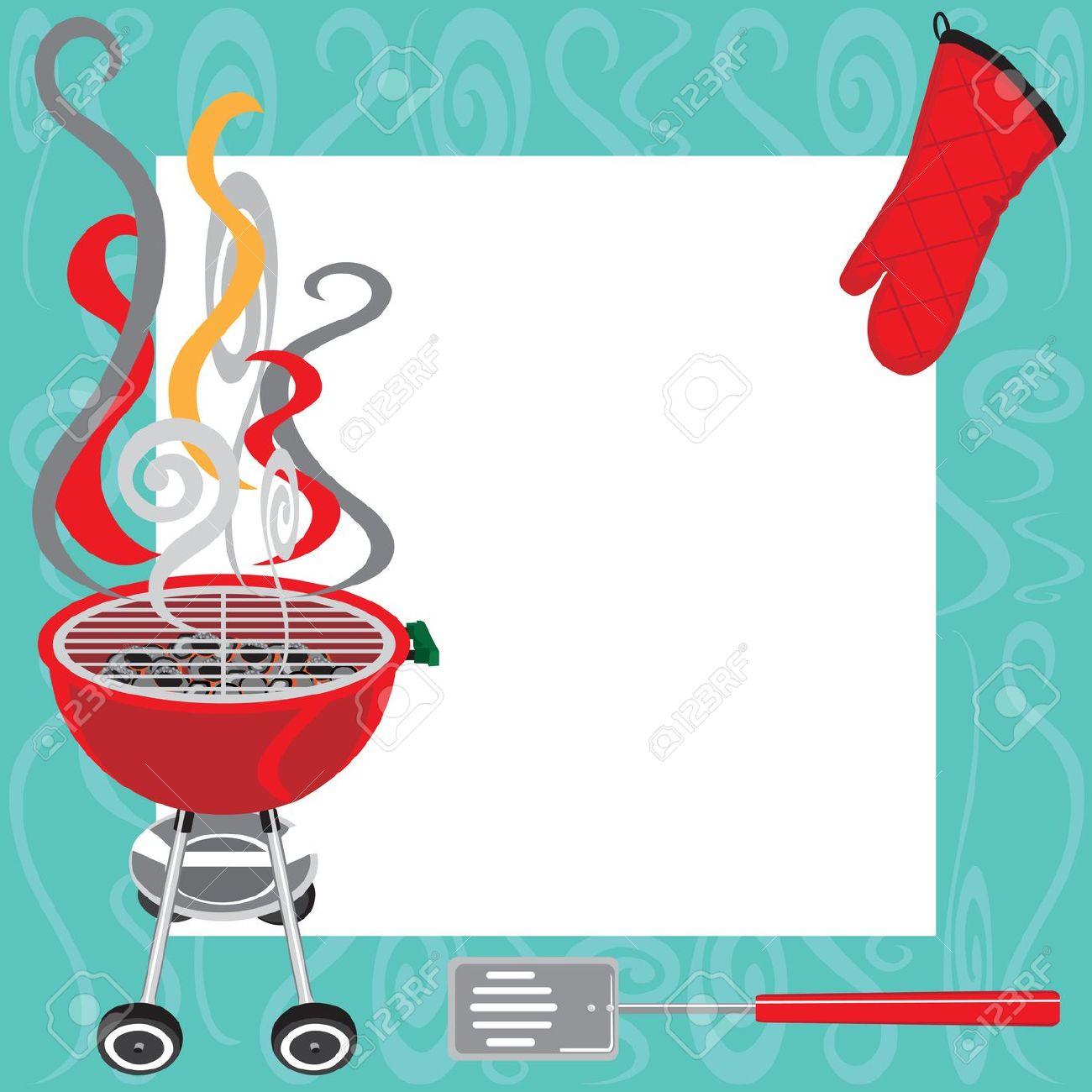 Barbecue clipart backyard bbq. For invitations