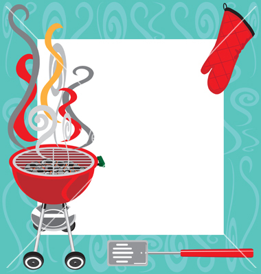 Bbq template incep imagine. Barbecue clipart banner
