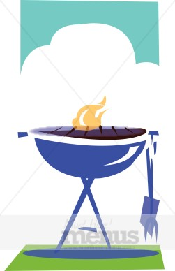 Summer . Barbecue clipart barbecue meat