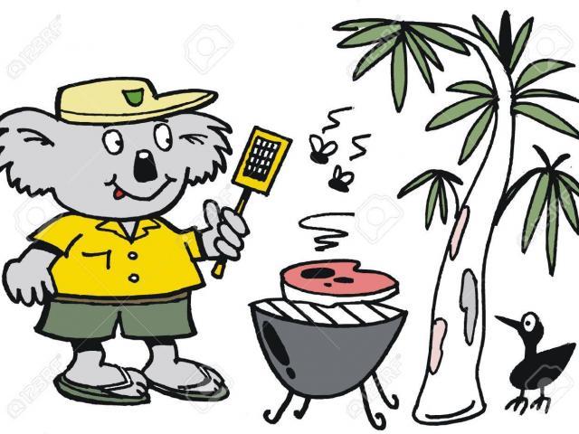 Barbecue clipart bbq australian. Free download clip art